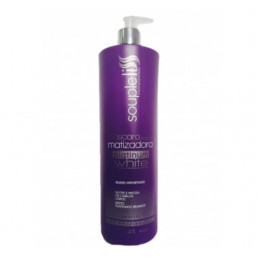 Souple Liss Platinum White Máscara Matizadora 1000ml.