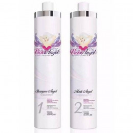 Vick Angel Kit Escova Progressiva 2x1 Litro.